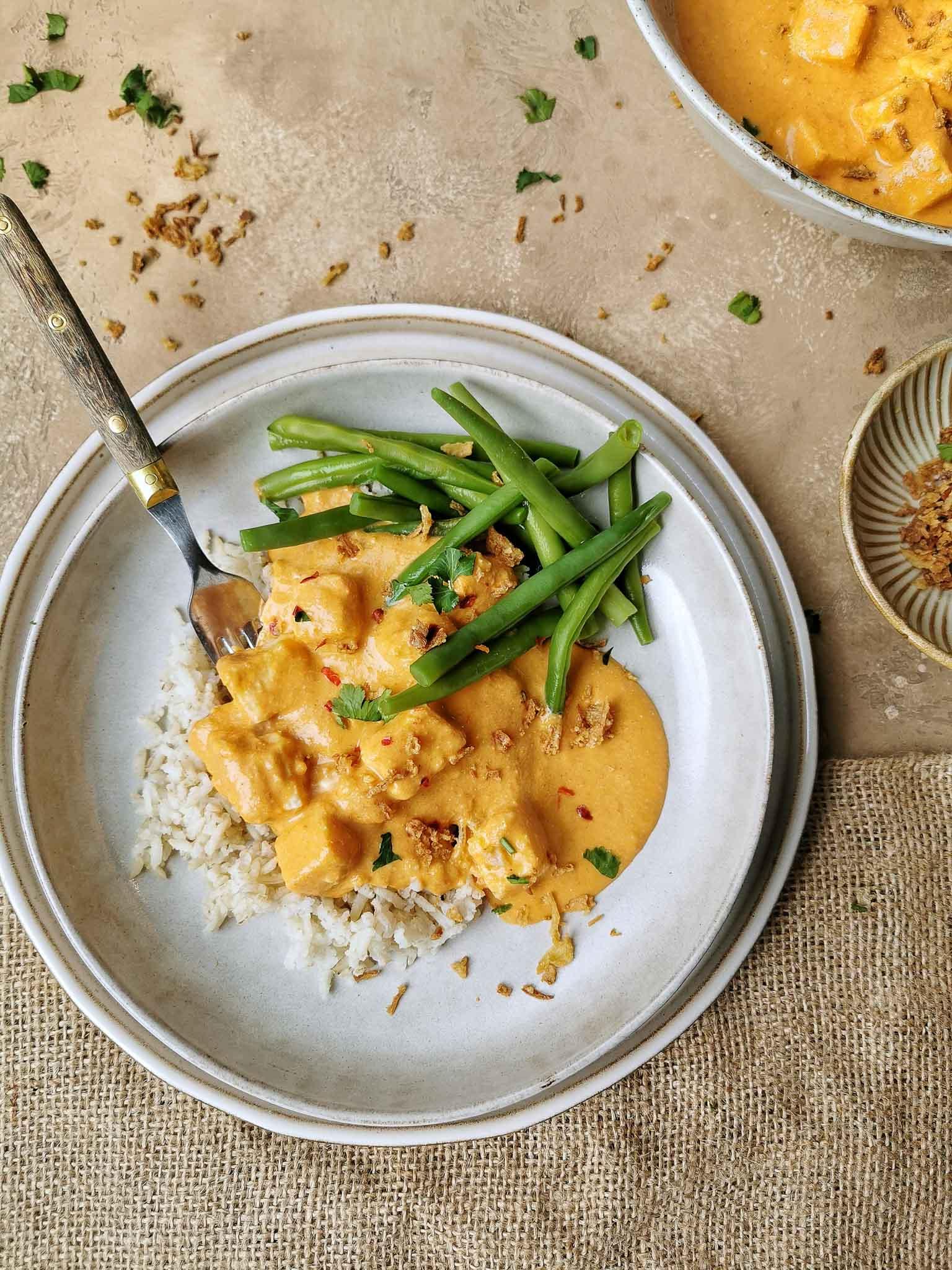 Vegetarische curry zonder pakjes en zakjes