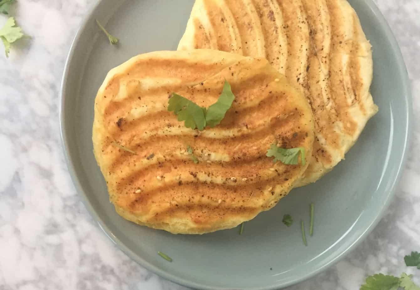 Naanbrood of flatbread