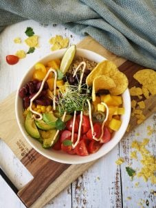 Mexicaanse poké bowl