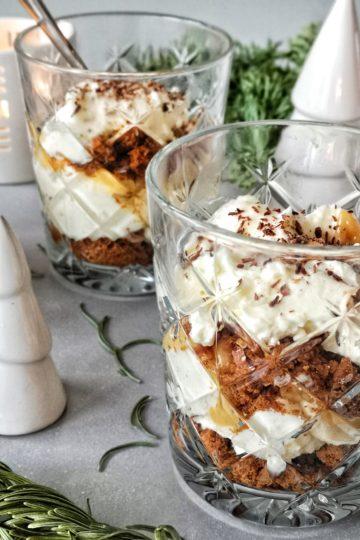 Banoffee trifle