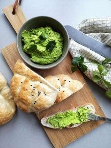 Doperwten groentespread