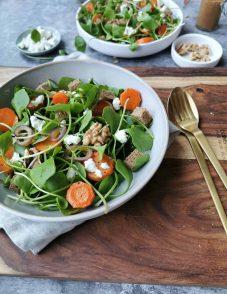 Vegetarische wintersalade