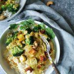 Curry zonder pakjes en zakjes vegetarisch