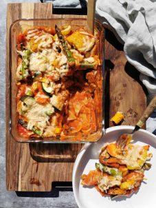 Vegetarische lasagne asperge