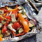 Vegetarisch barbecue bbq