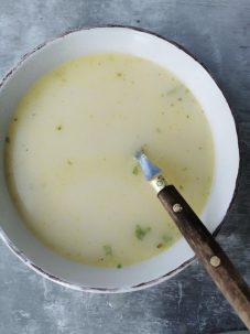 No waste soep restjes schillen asperge