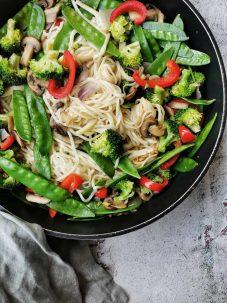 Vegetarisch roerbak recept