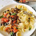 Pasta met Italiaanse groentestoof