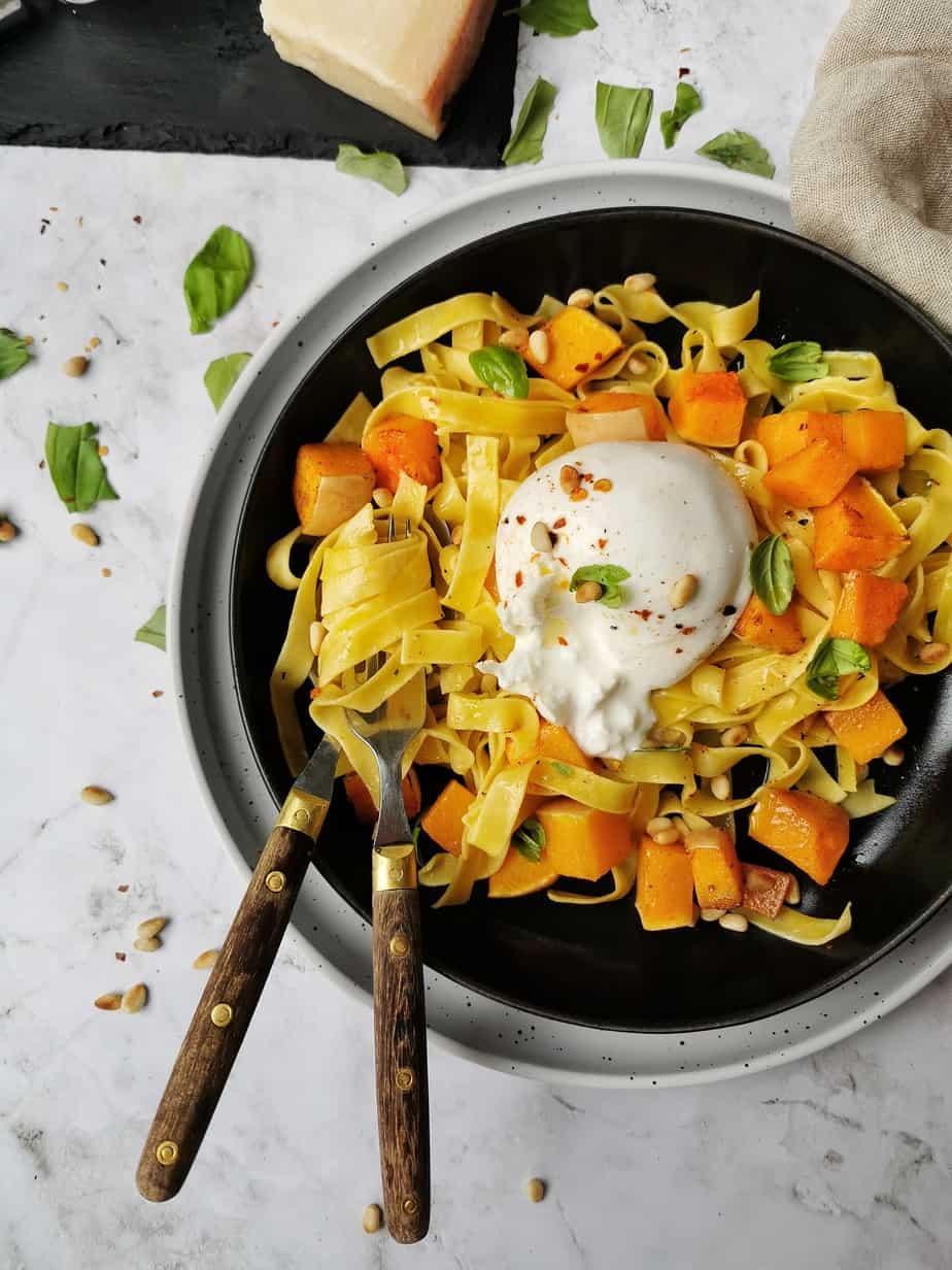 Vegetarisch recept pompoen