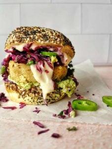 Vegetarische groenteburger