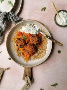 Grieks maaltijd vegetarisch