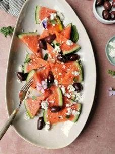 Vegetarisch recept watermeloen