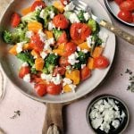 Vegetarisch camping recept