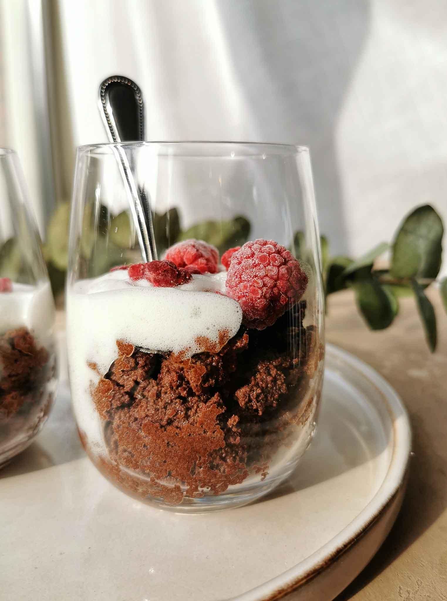 Vegan chocolademousse van kikkererwtenvocht